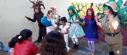 Evento foi realizado na Ala da Pedriatria, do HUCF (Fotos: Wesley Gonçalves - Ascom HUCF)